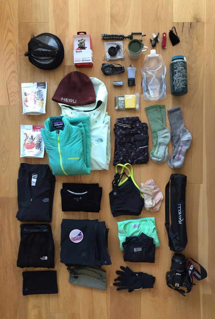 Yosemite Packing List for Spring