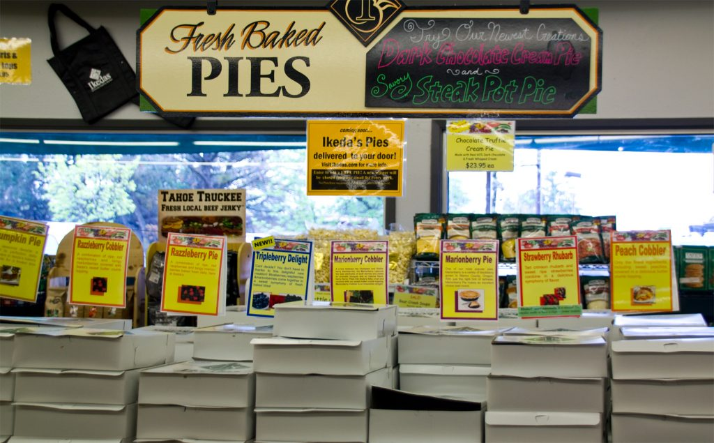 Ikeda's Pie Selection