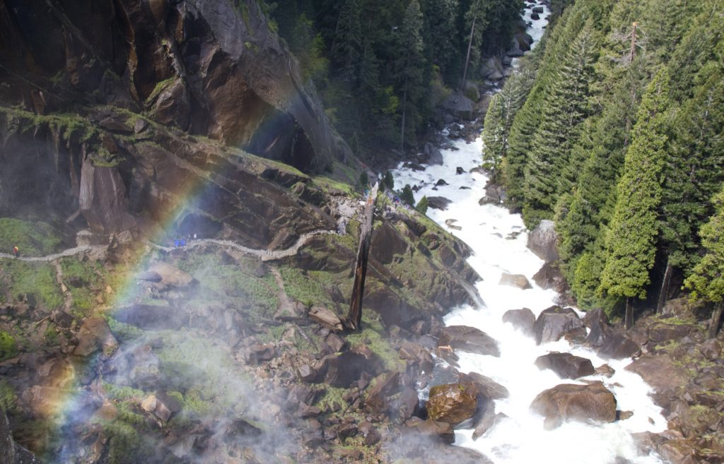 Rainbow over Vernal Falls