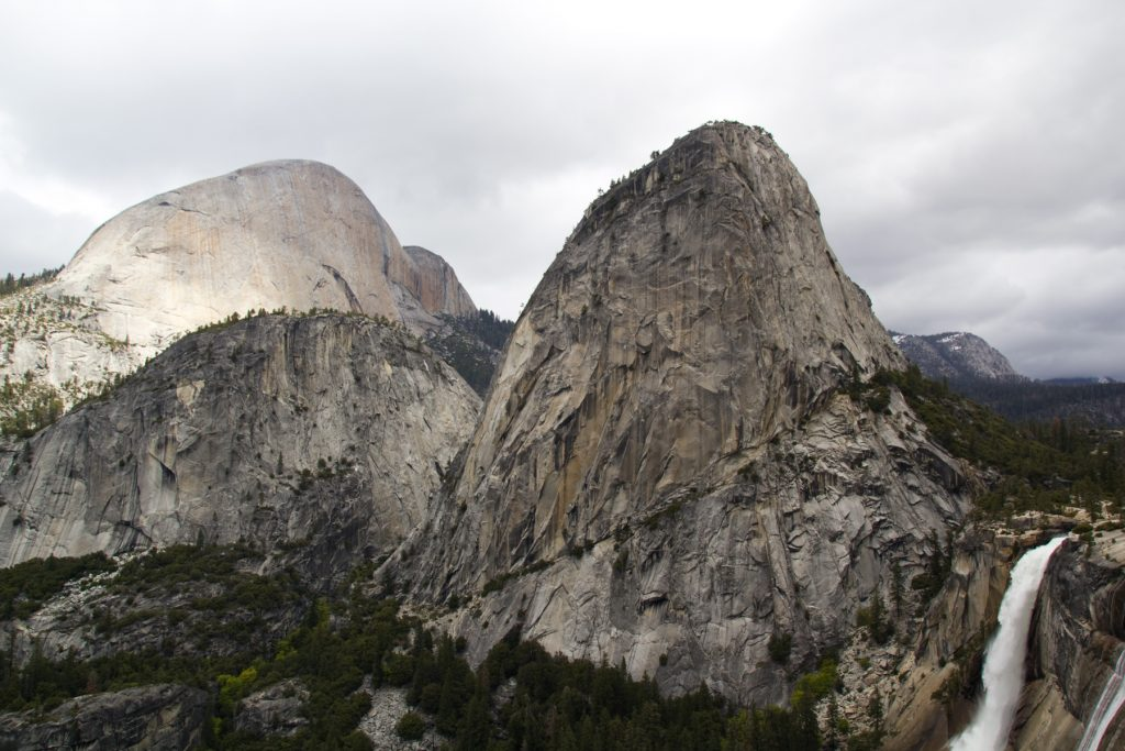 Liberty Cap & Nevada Falls - Yosemite