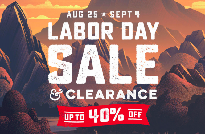 REI Labor Day Sale 2017