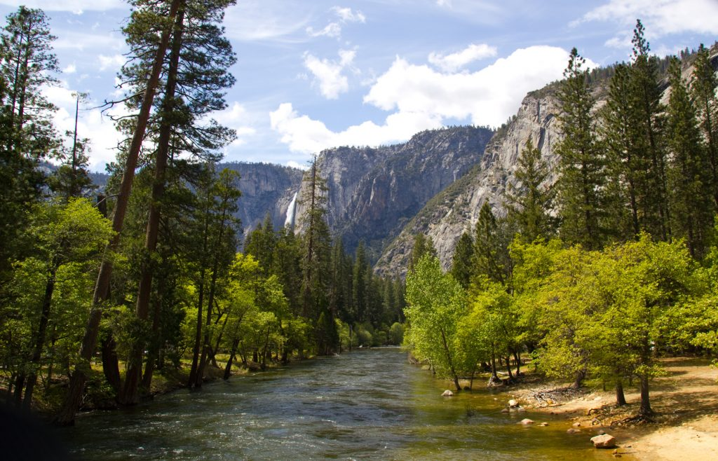 Merced River, Yosemite near Pines Campgrounds