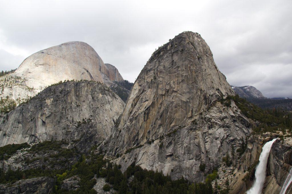 Liberty Cap & Nevada Falls - Yosemite